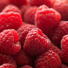 Red Raspberries by photolcu