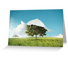 Rediscover the nature Greeting Card