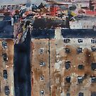 Edinburgh Tenements by Ross Macintyre