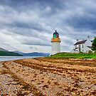 Corran Lighthouse Loch Linnhe by Chris Thaxter