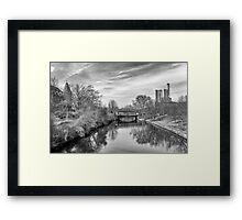 B&W spring Framed Print