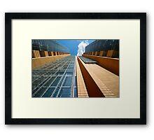 """Aspiration into the sky"" Framed Print"