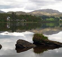 Lough Eske Reflections by WatscapePhoto