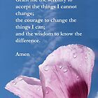 The Serenity Prayer - Prayer for Guidance by Katherine T Owen, Author