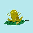 Chill Frog by Marco D. Carrillo