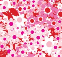 Floral Heart  Sticker