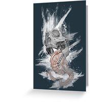 Skull Octopus Graphic tshirt -- Kraken Skull -- fitted Men Unisex t shirt Greeting Card