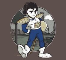 1920s Saiyan Prince in Color by joshmirm