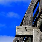 Old wood and sky by john forrant
