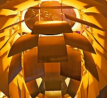 Artsy Yellow Lamp by phil decocco