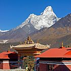 Ama Dablam from Tengboche by Harry Oldmeadow