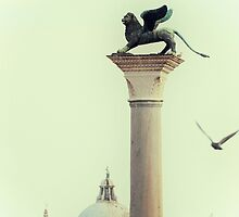 Winged Lion of Venice by Karen E Camilleri
