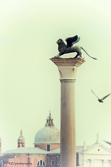 Winged Lion of Venice by Karen E Camilleri