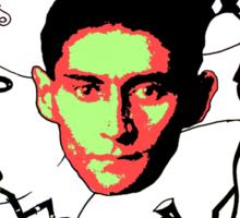 Franz Kafka Sticker