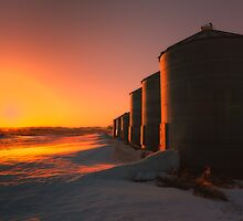 Silos 3057_2013 by Ian McGregor