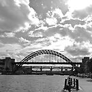 Tyne Bridge in sunshine by baronrusset
