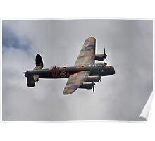 Dambusters 70 Years On - BBMF Lancaster - HDR Poster