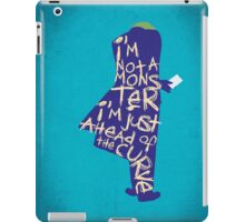 The Dark Knight - Joker: Ahead of the Curve iPad Case/Skin