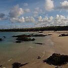 Beach at Port Nis by kalaryder
