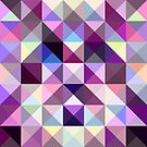 Interesting texture of colored triangles by Tanor