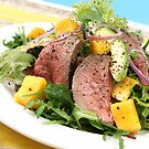 Spicy Beef and Mango Salad by Franz Diegruber