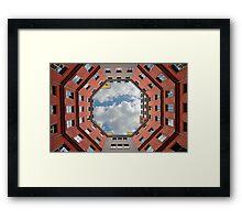 Prospective symmetry Framed Print