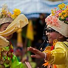 Thailand, Poy Sang Long, Buddha, Buddhism, Temple, Monk, Festival, by Stephen Brown