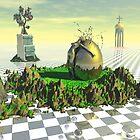 Le jardin de l'or secret by Atman Victor