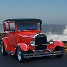 1929 Ford Model A Sedan by DaveKoontz