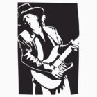 Stevie Ray Vaughan Double Trouble by 53V3NH