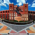 108. &quot;Unconquered. (Doak Campbell Stadium, Florida State University).&quot; by amyglasscockart