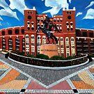 "108. ""Unconquered. (Doak Campbell Stadium, Florida State University)."" by amyglasscockart"