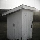 Wells Tannery, PA Outhouse by Kimberly Scott