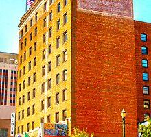 Sam Houston Hotel HDR by expressit