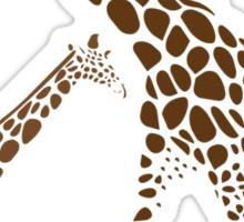 Animal Giraffe Picture Sticker