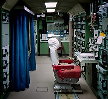 Minuteman Missile Delta 01 Lunch Control Facility by Alex Preiss