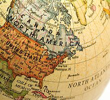 Mini Globe North America by totorat