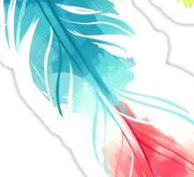 Feather Sticker