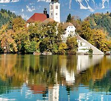 LAKE BLED by MARYB826