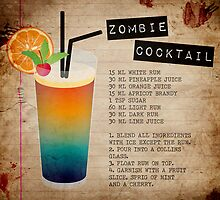 Zombie Cocktail Recipe by The Eighty-Sixth Floor