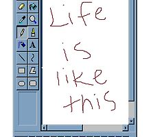 MS Windows Paint :) by buucos