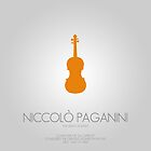 NICCOL PAGANINI - The &#x27;Devil&#x27;s Violinist&#x27; by Mark Hyland
