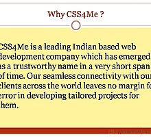 Why choose us? by css4me123