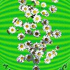 Riot of Spring Flowers tee by DAdeSimone