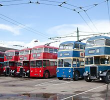 Sandtoft Trolley Buses by Imager