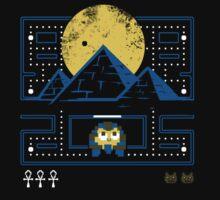 Pyramid Pacman by sketchboy01
