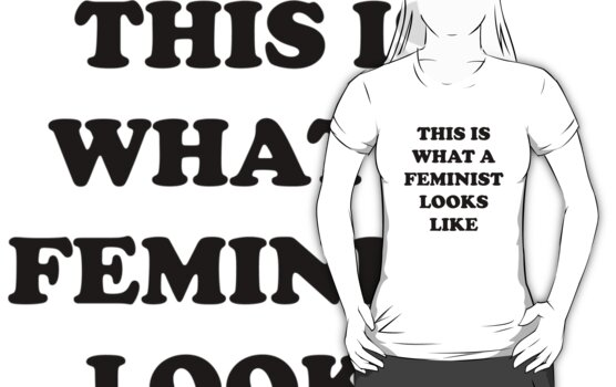 This Is What A Feminist Looks Like by BrightDesign