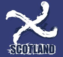 Artistic Scotland Saltire by eyemac24