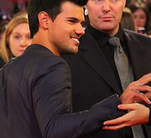 Taylor Lautner (Breaking Dawn) by Paul Bird