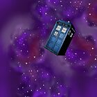 Doctor Who Tardis in the universe by Inzaie